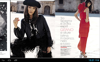 Screenshot of Glamour Italia