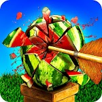 Watermelon Shooting : Archery Shooting Games Icon