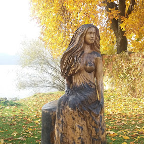 the mermaid from Frymburk, CZ by Jana Prášková - City,  Street & Park  City Parks