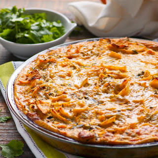 Crustless Zucchini Enchilada Quiche
