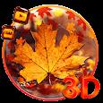 3d Glass Tech Leaf Theme