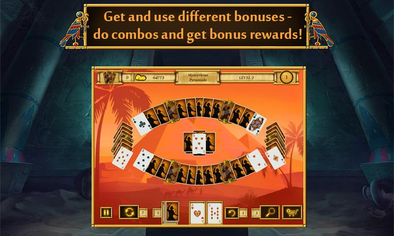 Solitaire Egypt Match Screenshot 2