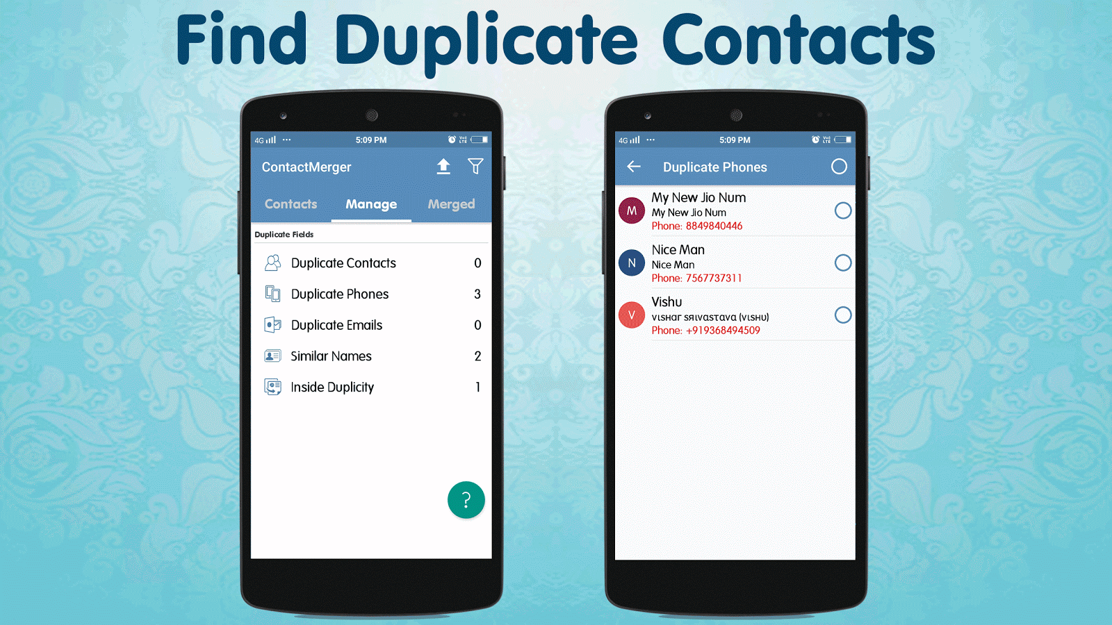 Duplicate Contact Merger Screenshot 3