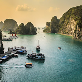 Halong Bay by Vicneswaran Kuppusamy - Landscapes Travel