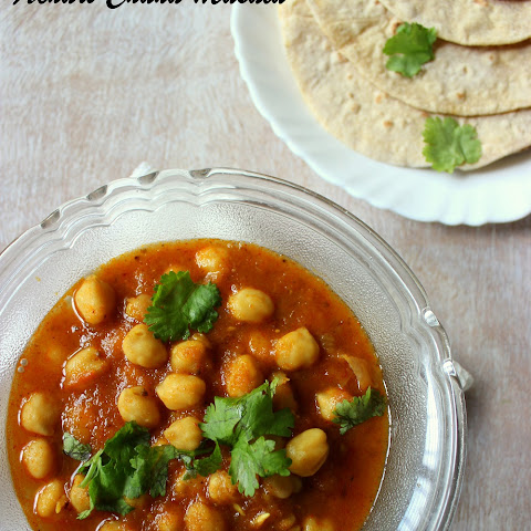 Achari Chana Masala / Chickpeas Curry with Pickles Spices