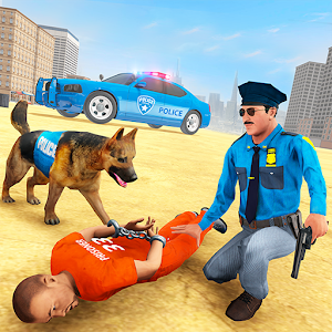 City Police Dog Prison Chase For PC / Windows 7/8/10 / Mac – Free Download