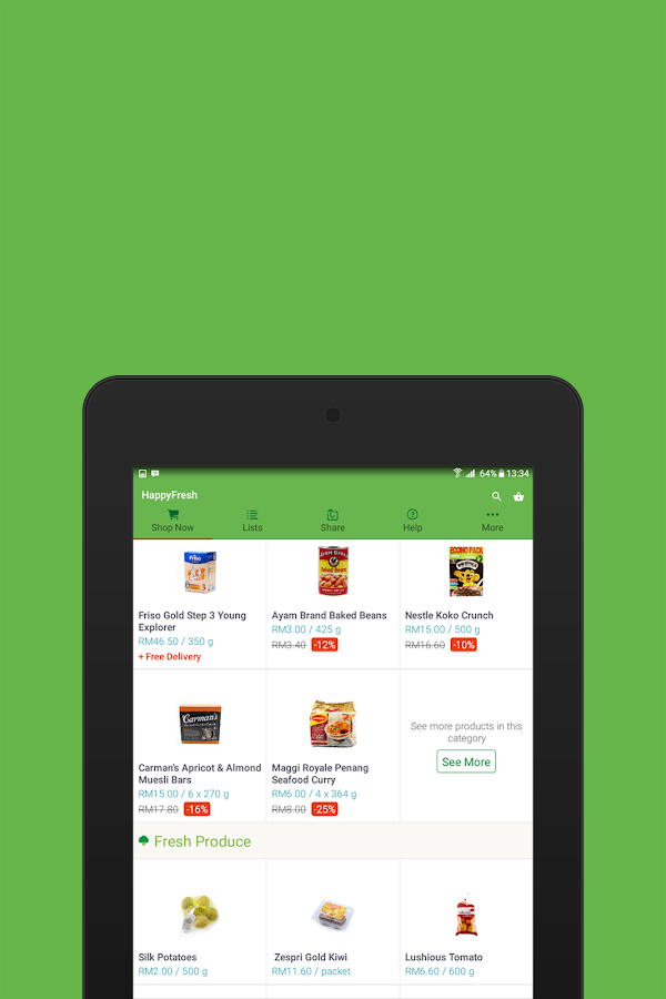 HappyFresh - Grocery Delivery Screenshot 7