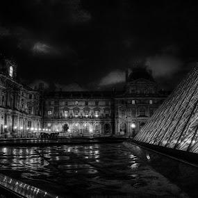 The Louvre by Tawfik Dajani - Buildings & Architecture Public & Historical ( paris, louvre, france, architecture, museum )