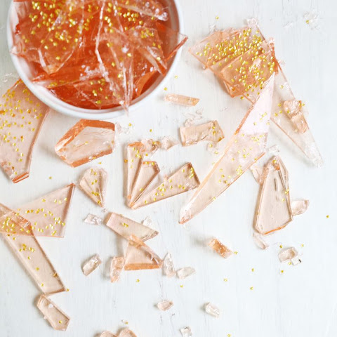 Rose-Flavored Rock Candy