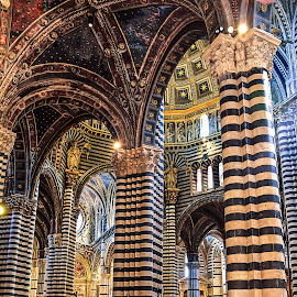 Siena Cathedral by Dmitriy Andreyev - Buildings & Architecture Other Interior ( religion, catholic, cathedral, italy, siena,  )