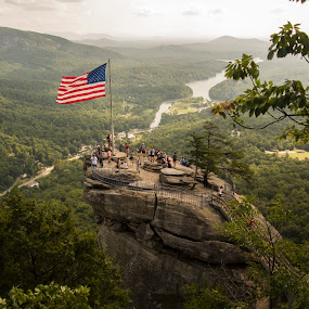 Chimney Rock State Park by Sabastian L - Landscapes Mountains & Hills