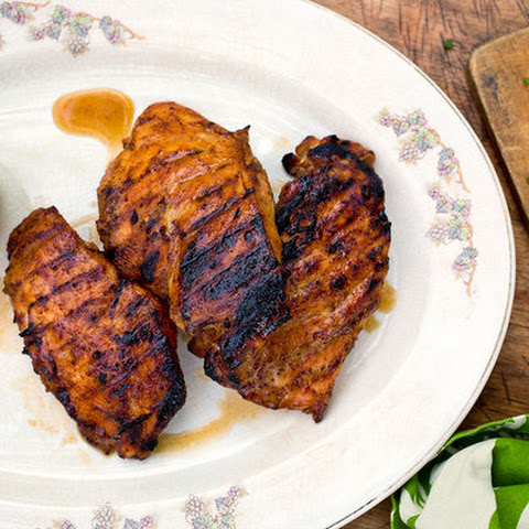 Sweet and Spicy Grilled Chicken Breasts