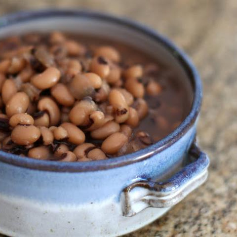 Basic Crock Pot Black Eyed Peas