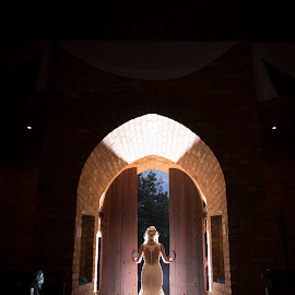 Doors by Lodewyk W Goosen (LWG Photo) - Wedding Bride ( weddingphotography, wedding day, dress, weddings, wedding, brides, wedding potographers, wedding photographer, bride )