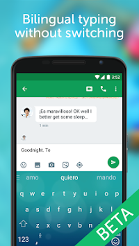 SwiftKey Beta APK screenshot thumbnail 4