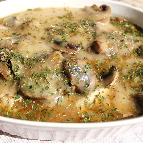 Oven Baked Chicken and Mushroom Casserole