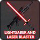 Blasters and lightsabers