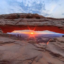 Mesa Arch by Trevor Hales - Landscapes Deserts (  )