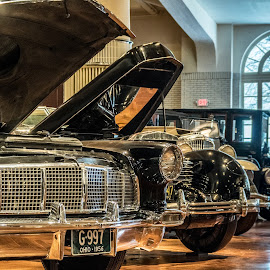 Continental II by Chris Thomas - Transportation Automobiles ( car, michigan, hdr, musuem, detroit, henry ford, mi )