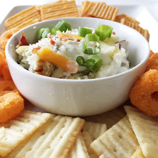 Skinny Jalapeno Popper Dip (Sponsored)