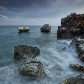 4 Rocks by Fokion Zissiadis - Landscapes Beaches