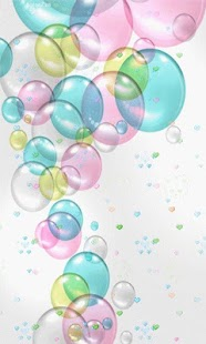 Color Bubbles Live Wallpaper - screenshot