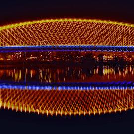 Trojský most by Petr Olša - Buildings & Architecture Bridges & Suspended Structures