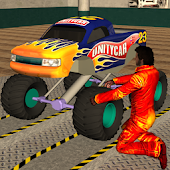 Game Monster Truck Mechanic Garage APK for Kindle