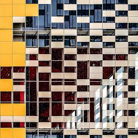 building's details - Rho Fiera - Milan by Luigi Alloni - Buildings & Architecture Architectural Detail ( building details architecture geometries windows colors luigialloni )