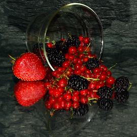 red and black by LADOCKi Elvira - Food & Drink Fruits & Vegetables