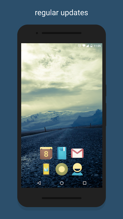 Vinty - Icon Pack Screenshot 2