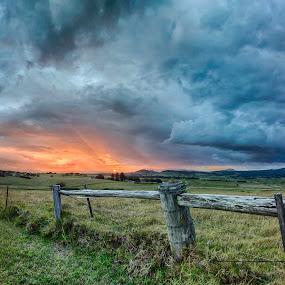 by Ian Mills - Landscapes Sunsets & Sunrises ( hdr, sunsets, gerringong, panorama )