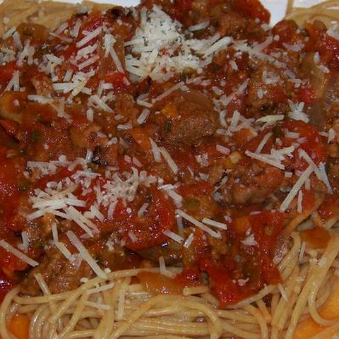 Easy Slow Cooker Spaghetti