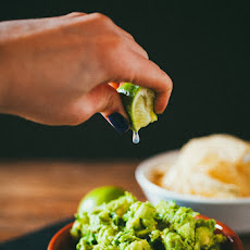 The Actual Best Guacamole