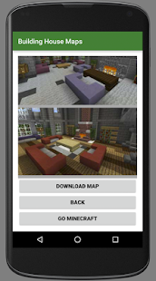 Building House Minecraft Maps