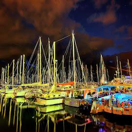 marina by Joel Adolfo  - Transportation Boats ( boats, transportation )