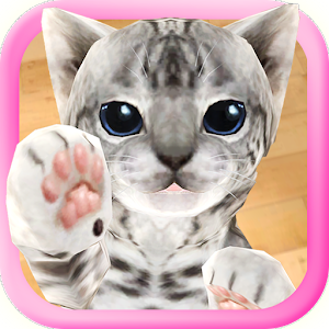 3D Cute Cat Live Wallpaper For PC