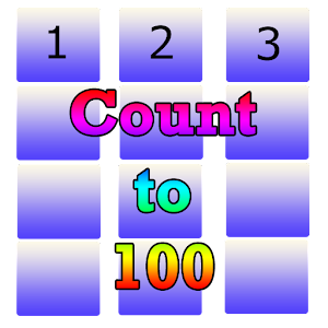 Count to 100 Numbers for Kids Icon