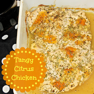 Tangy Baked Citrus Chicken