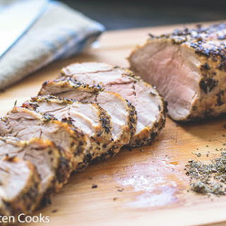 Sage and Thyme Rubbed Pork Tenderloin