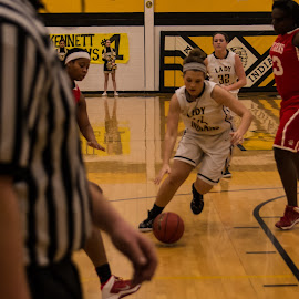 Dribble! by Chris Wheeler - Sports & Fitness Basketball ( basketball, dribble, shoot, sports, women,  )