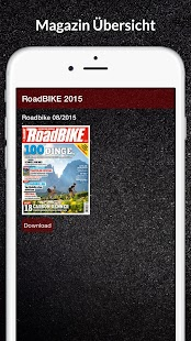 RoadBIKE E-Paper - screenshot