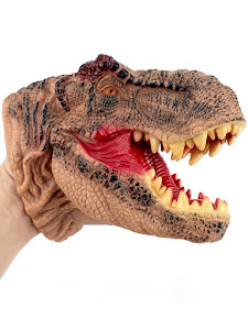 "Игрушка-фигурка серии ""Город Игр"", динозавр тираннозавр, бибабо"