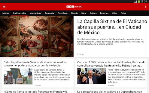 Free BBC Mundo APK for Windows 8