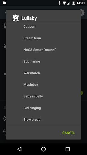 Sleep Lullaby Add-on - screenshot