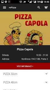 Pizza Capola - screenshot