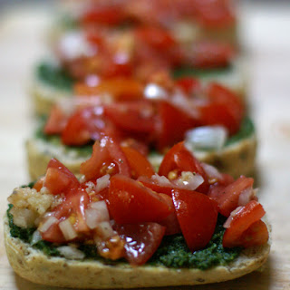 Pesto Bruschetta