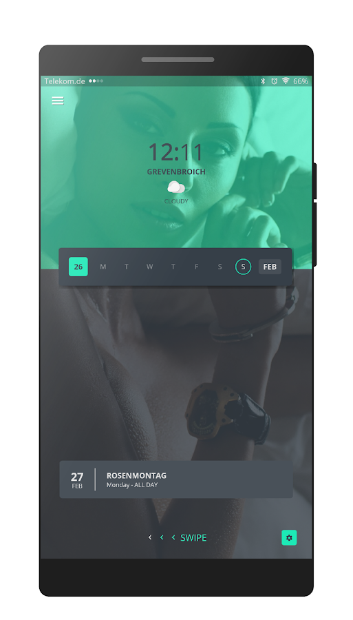 UKP for Kustom / KLWP Screenshot 1