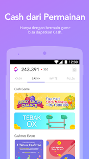 App Cashtree: Pulsa Hadiah Gratis APK for Windows Phone