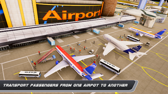 Airplane Real Flight Simulator 2020 : Plane Games